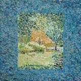 144 - Regard - Huile - 81 x 65 cm