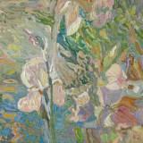 145 - Iris - Huile - 54 x 73 cm
