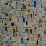 178 - Influences - Huile - 65 x 64 cm