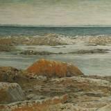 108 - Rochers au Croisic - Huile - 50 x 73 cm