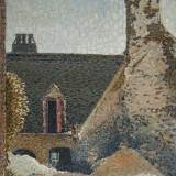 109 - La maison de pierre - Huile - 73 x 60 cm