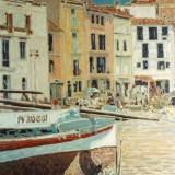 115 - Collioure 2 - Huile - 65 x 50 cm - Collection particulière