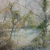 122 - La clairière - Huile - 65 x 92 cm - Collection particulière