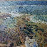 156 - Avancée - Huile - 81 x 65 cm