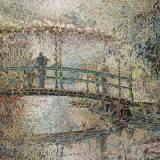 158 - Atmosphère à Giverny - Huile - 60 x 92 cm