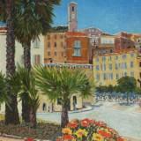 28 - Cannes La Bocca - Huile - 65 x 50 cm
