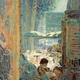 133 - Terrasse Cours Mirabeau - 81 x65 cm - Collection particulière