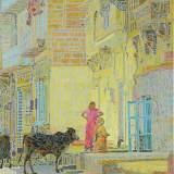 201 - Dans les rues de Jaïsalmer - Huile - 73 x 60 cm