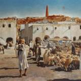 29 - Ghardaia - Huile - 65 x 92 cm - Collection particulière