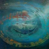 149 - Constellation musicale - Dialogue du vent et de la mer - Acrylique - 97 x 130 cm