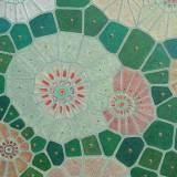 196 - Cellules - Détail 1 - Cellules de Voronoï