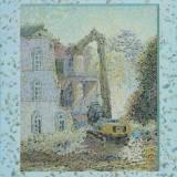 204 - Démolition 1 - Huile-Acrylique - 81 x 65 cm