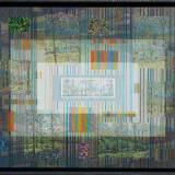 182- Paysage discret - Huile - Acrylique - Crayon - 89 x 130 cm