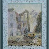 204 - Démolition 2 - Huile-Acrylique - 81 x 65 cm